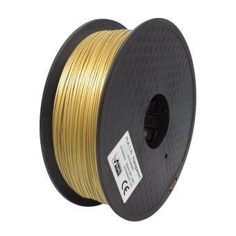 3D Print Filament PLA เส้นพลาสติกขนาด 1.75 mm.1 kg.(สีทอง)