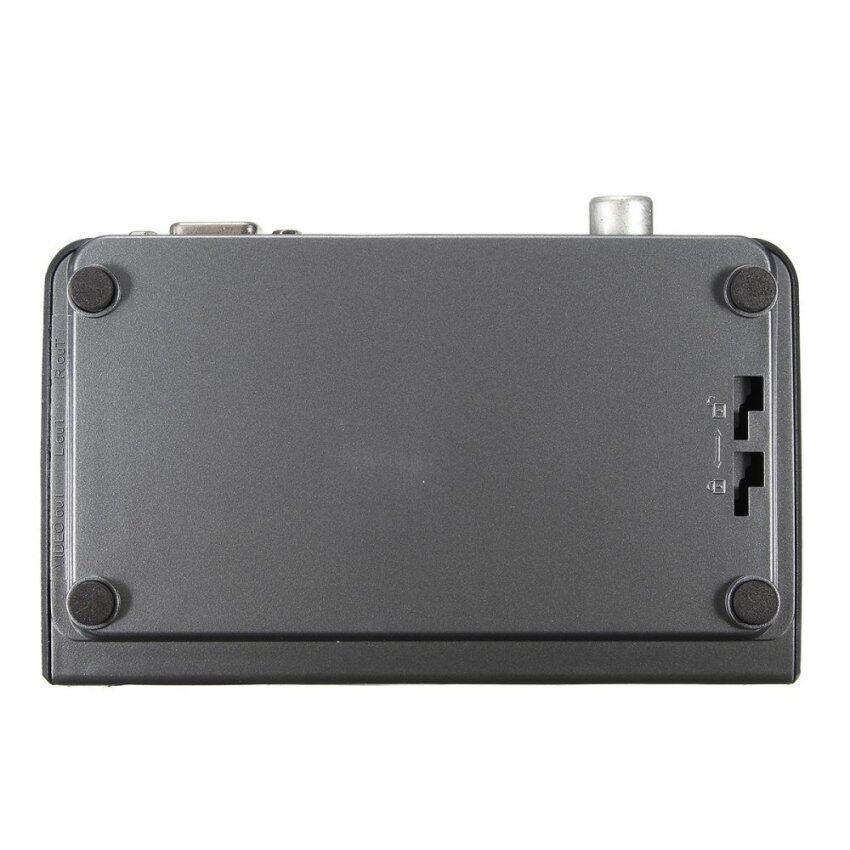 3pcs Digital Terrestrial HDMI 1080P DVB-T T2 TV Box VGA AV CVBS Tuner Receiver Remote EU - intl