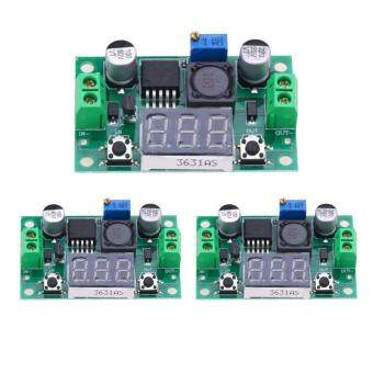 3Pcs LM2596S DC to DC Buck Converter Adjustable Power Supply Step Down Module - intl