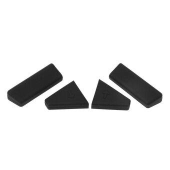 4 ชิ้นซิลิโคนป้องกันเพิ่มความสูง Landing Feet สำหรับ DJI Mavic \n Pro Drone (สีดำ)