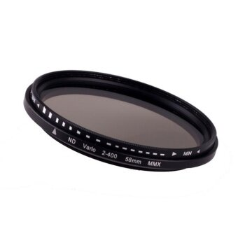 58mm Fader Variable ND Filter Adjustable ND2 to ND400 NeutralDensity - intl