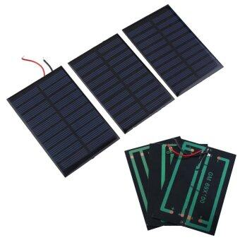 5V Mini Solar Panel Battery power charger charging Module DIY Cellcar home - intl