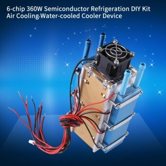 6-chip 360W Semiconductor Refrigeration DIY Kit Air CoolingWater-cooled Cooler Device - intl