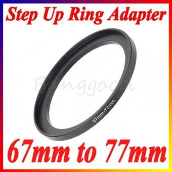 67-77mm 67mm-77mm 67 to 77 Metal Step Up Lens Filter Ring Stepping Adapter Black - Intl - Intl