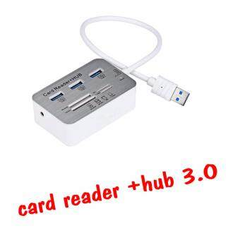 7 in 1 usb 3.0 5Gbps hub with card reader combo Multi
