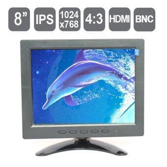 "2561 8"" IPS Industrial LCD Monitor , 8 inch HD Standalone HDMI CCTV LCD monitor with HDMI/VGA/AV/BNC input, 1024*768 pixels"