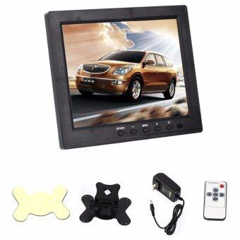8 LCD TFT Car Dashboard HD Monitor, VGA BNC HDMI AV-in USB Charging Port Display Screen Monitors for PC Home Security 1024*768 - intl