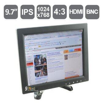 "9FINAL 9.7\"" LED Color Monitor IPS Screen 1024*768 (AV+BNC+VGA+HDMI+USB+ Audio Speaker) with Remote Control"
