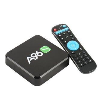A96S Quad Core Amlogic S905X 4K Android 6.0 KODI 16.1 TV Box 2.4GWiFi HDMI Player 2+8GB - UK Plug - intl