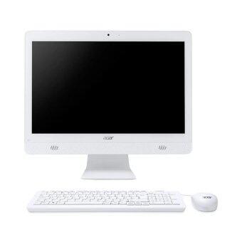 """ประเทศไทย Acer Aspire C20-720-374G5019Mi/ Intel Pentium Processor J3710D/4GB DDR3/500GB HDD/19.5"""" (White)"""