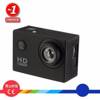 กล้อง ติดหมวก กล้องรถ Action Camera มีจอ LCD คุ้มที่สุด HD 1080P กันน้ำ 30 เมตร มุมกว้าง 140°