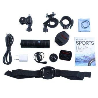 ADS Professional Camera Shooting 1080P Helmet Sports Camera Waterproof Video Recorder DVR DV Bike Motorcycle - intl
