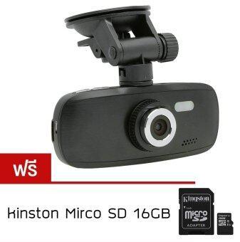 Alithai G1W กล้องติดรถยนต์ DVR NT96650 Full HD (Black) ฟรี KINGSTONmemory card 16Gb CLASS10(PRICE:390-)