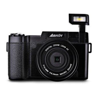 Amkov 24MP Digital FHD 1080P 3 LCD Mirrorless Camera w/ UV Filter - intl