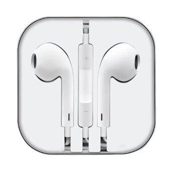 Ampko Smart Earphone หูฟังสำหรับไอโฟน iPhone / iPad / iPod (สีขาว)!