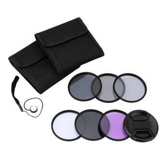 Andoer 52mm UV+CPL+FLD+ND(ND2 ND4 ND8) Photography Filter Kit Set Ultraviolet Circular-Polarizing Fluorescent Neutral Density Filter for Nikon Canon Sony Pentax DSLRs