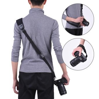 Andoer Professional Rapid Quick Release Camera Shoulder Sling Neck Wrist Strap for Canon Nikon Sony DSLR ILDC DV Outdoor Shooting ^ - intl