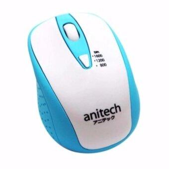 ราคา Anitech Mouse Wirelessรุ่นW214