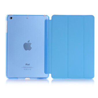 Apple 2016 iPad Pro (9.7) / iPad Air 2 (ipad 6) case, Welink UltraSlim Smart Cover PU Leather Case for Apple 2016 iPad Pro (9.7) /iPad Air 2 (ipad 6) (Blue)