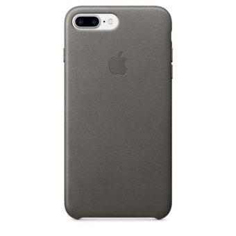 Apple Acc iPhone 7 Plus Leather Case - Storm Gray