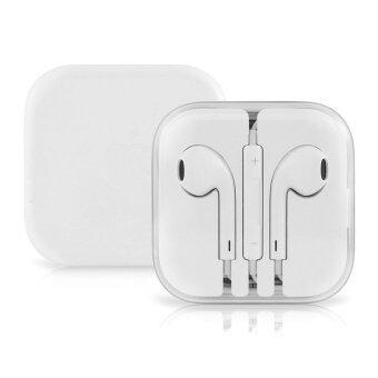 Apple หูฟัง earpods พร้อมรีโมทและไมโครโฟน แท้จากศูนย์
