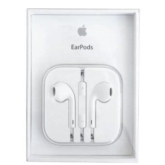 Apple หูฟัง earpods พร้อมรีโมทและไมโครโฟน Original Box - White