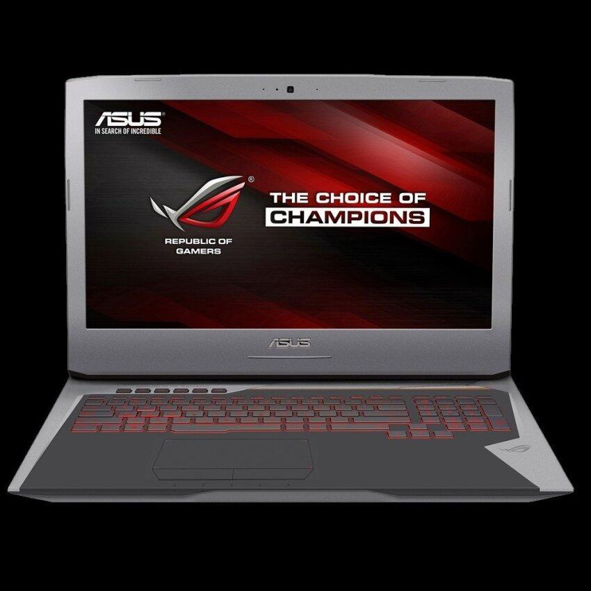 Asus GL752VT-GC129T Gaming i7-6700HQ 2.6 GHz 17.3' 16GB(8GB2) 1TB 7200rpm+256G PCIE GTX 970M DDR5 Win10 (Grey)
