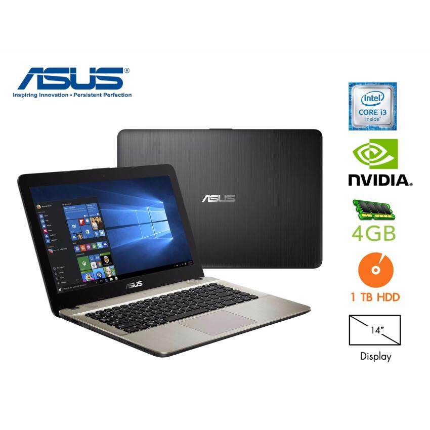 ขาย Asus X441UR-GA040 i3-6006U4GB DDR4HDD 1TBGeForce 930MX 2G14' (Black)