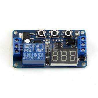 เครื่องตั้งเวลา Automation Delay Timer Control Switch Relay Module
