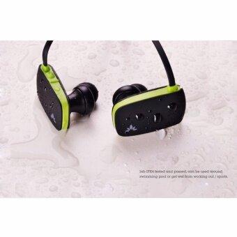 Avantree Bluetooth Sport Stereo Headset หูฟังบลูทูธ 4.0 พร้อมไมโครโฟน ตัดเสียงรบกวนรอบข้าง ปรับเสียง เปลี่ยนเพลงได้ เบสหนัก ป้องกันเหงื่อและละอองน้ำ เชื่อมต่อได้ 2 อุปกรณ์พร้อมกัน รุ่น Sacool (สีดำ/เขียว) / ฟรี เลนส์เสริม สำหรับสมาร์ทโฟน มูลค่า 149.- (image 3)