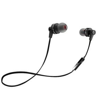 AWEI A990BL BlueTooth 4.0 Sport Earphones - Black