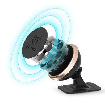 BASEUS ที่วางโทรศัพท์แถบแม่เหล็กติดรถยนต์ Stick and Go Rotation Magnetic Mount Holder (สีเงิน) (image 2)