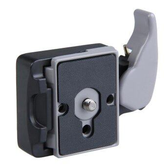 Black Camera 323 Quick Release Adapter with Manfrotto 200PL-14Compat Plate (Black) - int ...