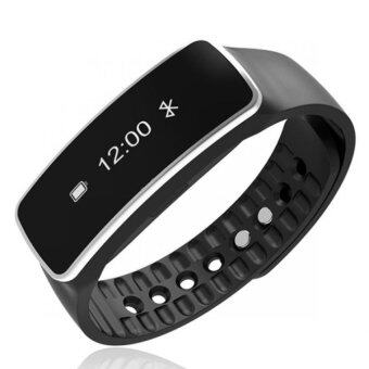 BLN V5 Smart Bracelet Smartband Bluetooth Fitness Sports TrackerWaterproof Wristband Smart Wrist Bracelet Band Pedometer for IOSiPhone Android (Black) (Intl)
