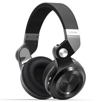 Bluedio หูฟังบลูทูธ Bluetooth 4.1 HiFi Stereo Headphone Super BassGameing รุ่น T2+ Plus (Black)