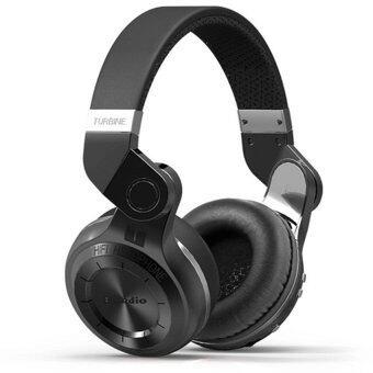 Bluedio T2 Bluetooth 4.1 HiFi Stereo Headphone รุ่น T2แถมกระเป๋าราคา (Black) (image 1)