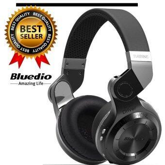 Bluedio T2 Turbine หูฟังบลูทูธ Bluetooth 4.1 HiFi Super Bass Stereo Headphone รุ่น T2 (Black)