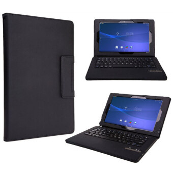 Bluesky Detachable Bluetooth Keyboard with Portfolio Case andKeyboard Stand Case for Sony Xperia Z2 Tablet - Intl