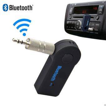 Harga Bluetooth Music Receiver MIC Sender Hands-free for Mobile PhoneBT200S (Black)
