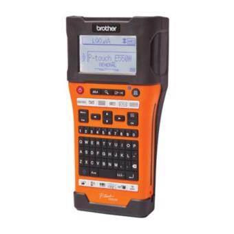Brother P-Touch Brother PT-E550WVP เครื่องพิมพ์ฉลากแบบพกพา (สีส้ม)