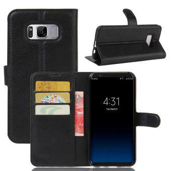 BYT Leather Flip Cover Case for Samsung Galaxy S8 - intl