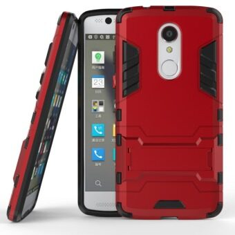 BYT TPU+PC Neo Hybrid Phone Case for ZTE Axon 7 Mini (Red)