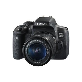Canon 750D + Lens 18-55mm stm (Black) ������������������������������ EC MALL
