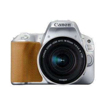 Canon กล้อง DSLR รุ่น EOS200D kit 18-55mm (Silver) ประกันศูนย์
