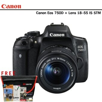 Canon Eos 750D Kit 18-55 IS STM + (Kit set)