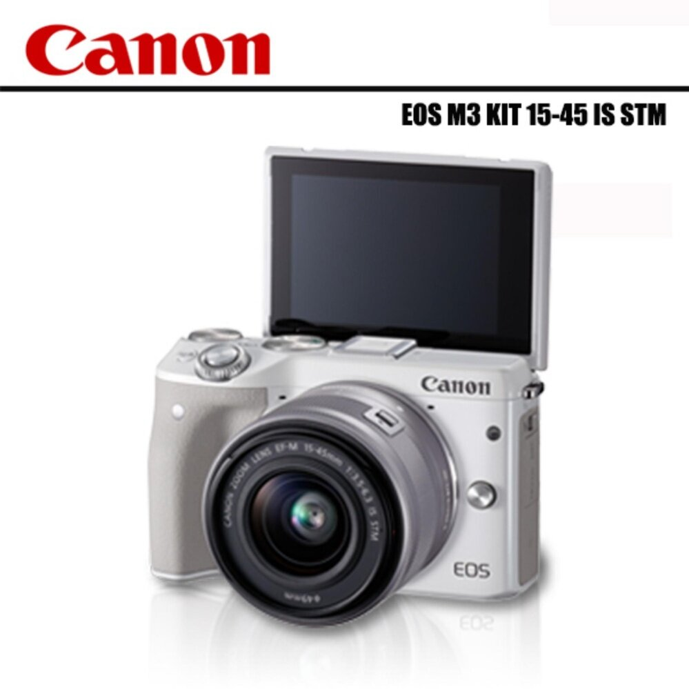 Canon EOS M3 Kit EF-M 15-45mm STM