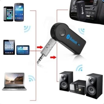 CAR Bluetooth Speaker Car Bluetooth Music Receiver Hands-free บลูทูธในรถยนต์ รุ่น BT310(BLACK)