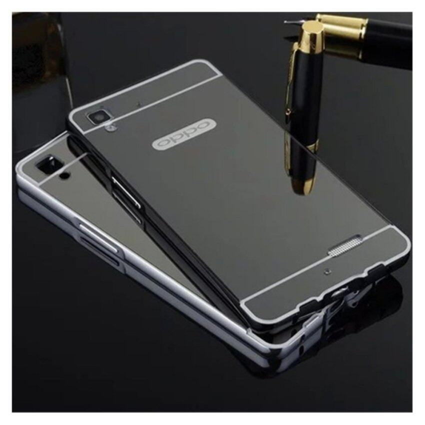 Aluminium Bumper With Mirror Backdoor Source · Case Oppo F1 A35 Oppo F1 .