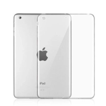 CASE PHONE Soft Case เคสไอแพดมินิ 4 TPU นิ่ม - Transparent Soft TPUBack Case Cover for iPad Mini 4 (สีขาวใส)