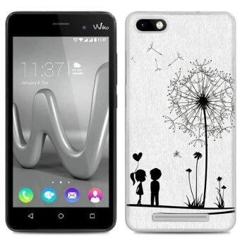 Cases for Wiko Jerry / Wiko K-KOOL / Blu Dash X2 / Wiko Lenny 3 (5inch) Smartphone - Love Dandelion Pattern Transparent TPU MobilePhone Soft Cover Case - intl